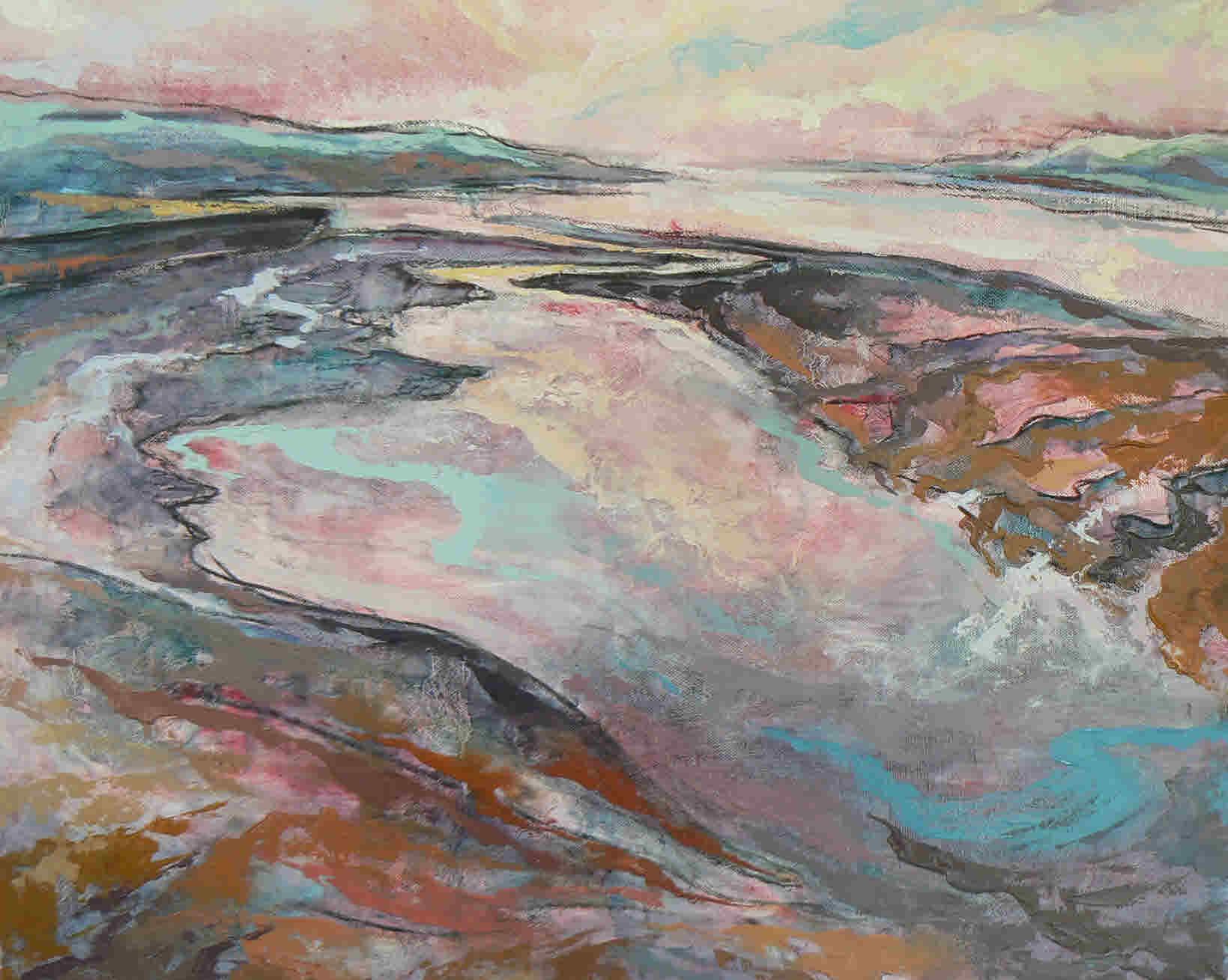 Teign Estuary in January
